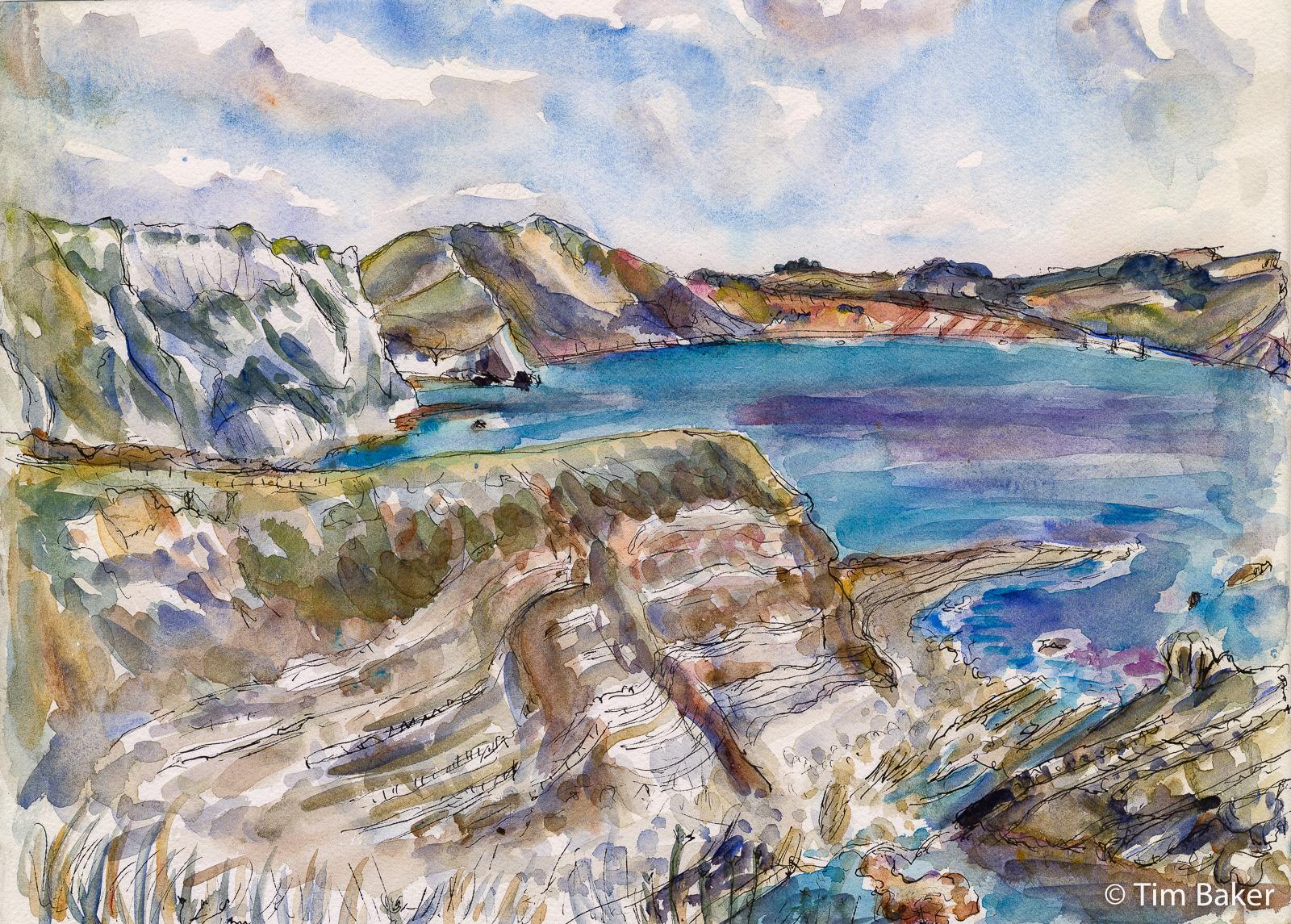 2021-Jurassic-Coast-Weymouth-to-Swanage-Mupe-Bay-Watercolour-1-Pano.jpg
